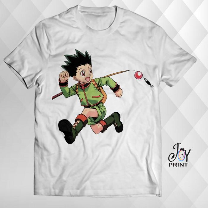 T Shirt Manga gon freecss bianca