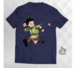T Shirt Manga gon freecss blu