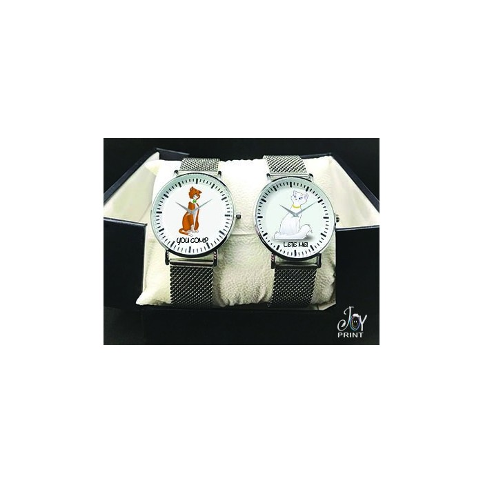 Coppia di orologi Personalizzati Aristogatti
