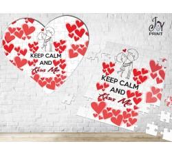 Puzzle Love Baciami