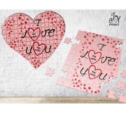 Puzzle Love Petali