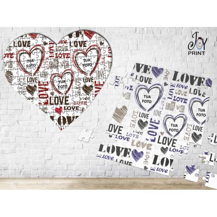 Puzzle Love Scritte