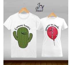 Coppia di t shirt Personalizzate Love 1000 modi