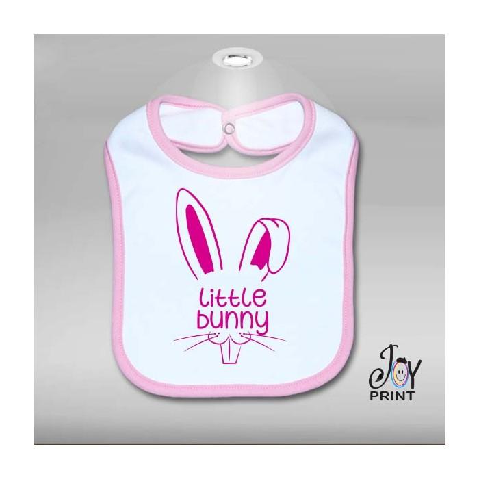 Bavaglino Pasqua Little Bunny