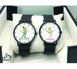 Coppia di orologi Personalizzati Peter pan & Trilly