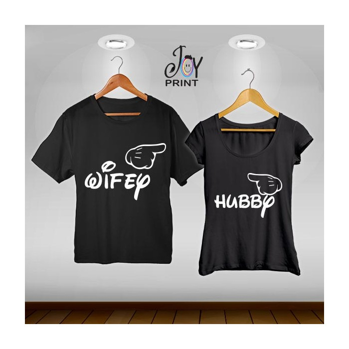 Coppia di t shirt Mr&Mrs Mose Married