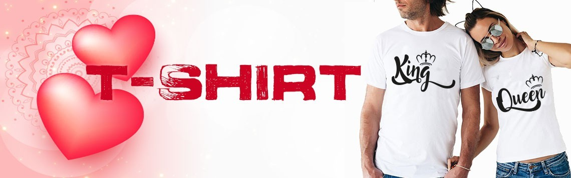Coppie di t shirt