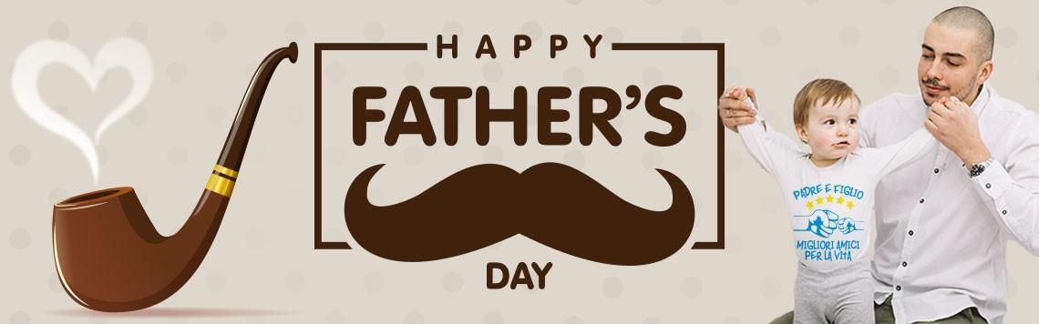 Festa del papà - coppia di t shirt padre e figlio - bavaglini personalizzati - body personalizzati