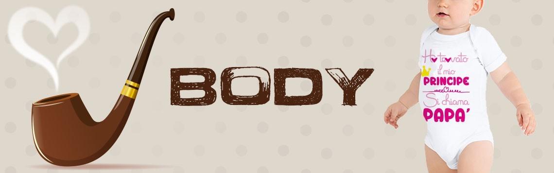 Body personalizzati - festa del papà - regali festa del papà -  body per bambini